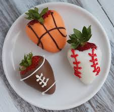 dipped strawberries sports dipped strawberries