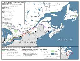 Northern Canada Map by Neb Feature Article Understanding The Production Transport