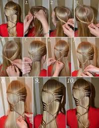 braided hairstyle instructions step by step s braid hairstyle step by step tutorial diy tag