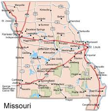 missouri map cities to get to state capitals the thicket at state legislatures