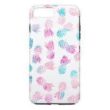 pink pineapple iphone 8 plus 7 plus cases u0026 covers zazzle