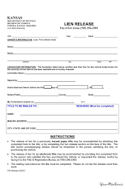 lien release forms north carolina lien release forms legal