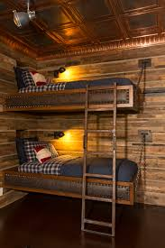 Log Bunk Bed Plans Cave Modern Log Cabin Ralph Style Bunk Beds By