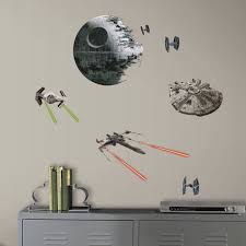 roommates star wars episode vi spaceships peel and stick wall