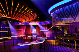 magnificent envy nightlife lounge design with mesmerizing purple