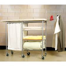 Iron Table Ls Laundry Lifestyle Mobile Laundry Center With Ironing Board