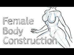 How To Draw Female Anatomy How To Draw The Female Body Youtube
