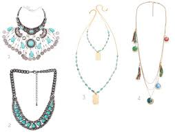boho style necklace images Turquoise jewelry for the perfect boho style jpg