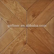 artistic parquet square engineered wood flooring made in china
