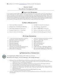 sharepoint resume ramin sadat sharepoint resume