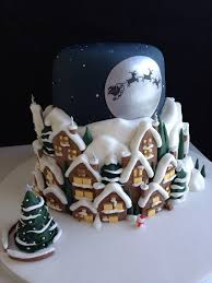 15 creative christmas cake decoration ideas