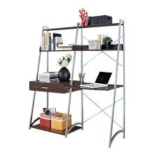 Ladder Bookcase Desk Combo Ladder Tv Stand American Style Retro Antique Wrought Iron Display