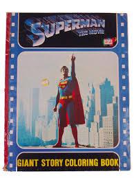 coloring books vintage superman