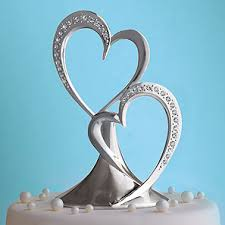 heart cake topper heart wedding cake topper wedding corners