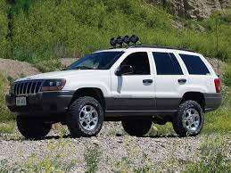 Grand Cherokee Off Road Tires 131 0504 10s 1999 Jeep Grand Cherokee Laredo Front Driver Side