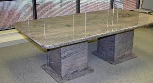 pedestal base for granite table top awesome paradiso granite table waterfall edge profile and matching