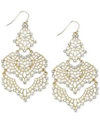 chandelier earings inc international concepts lace chandelier earrings