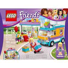 lego friends heartlake gift delivery 41310 walmart com