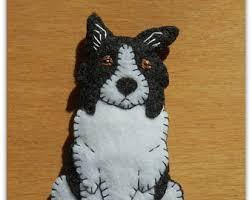 border collie puppy etsy