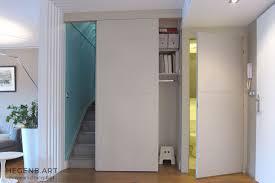 porte dressing sur mesure porte coulissante de placard sur mesure 7 porte cachee entree