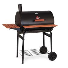 backyard professional charcoal grill shop char griller super pro 29 in barrel charcoal grill at lowes com
