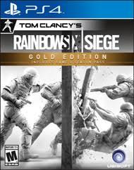 Buy Rainbow Six Siege Gold Tom Clancy S Rainbow Six Siege Gold Edition For Playstation 4