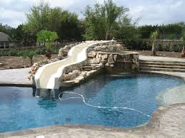 Water Slides Backyard by 23 Best Outdoor Pool Designs With Water Slides Images On Pinterest