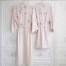 wedding dressing gowns bridal wedding dressing gown kimono personalised by mini lunn