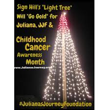 sign hill tree to be lit in honor of juliana peña u0026 childhood