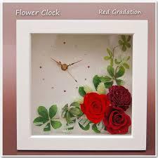 s arrange rakuten global market preserved flower clock preser