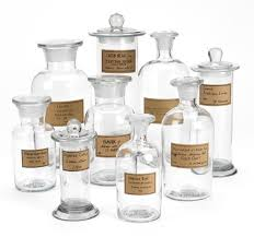 vintage apothecary jars reproduction antique apothecary jar set