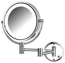 wall mounted hardwired lighted makeup mirror lighted makeup mirrors wall mounted magnified lighted wall mount