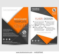 flyer design flyer brochure design business flyer size stock vector 421002082