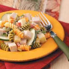 Cold Pasta Salad Recipe Smoked Turkey Pasta Salad Recipe Taste Of Home