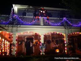 Light Up Halloween Outdoor Decorations by Halloween Porch Decorating Ideas Both Spooky And Fun