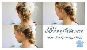 Hochsteckfrisurenen Hochzeit Selbst Machen by Brautfrisuren Zum Selber Machen 2 Easy Hairstyles