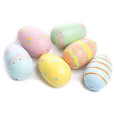 painted wooden easter eggs painted wooden easter egg and easter crafts