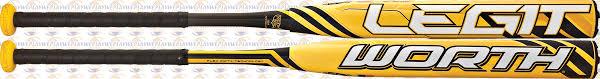 worth legit worth legit 2 sblu3 slowpitch softball bat weplay sports
