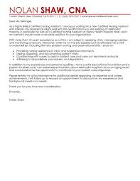 healthcare cover letter template best nursing aide and assistant cover letter exles livecareer