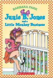 junie b jones and a monkey business by barbara park