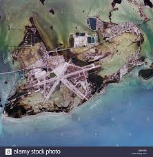Florida Shipwrecks Map Aerial View Of Nas Key West Naval Air Station Base Truman Annex