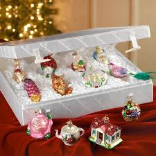 bride u0027s tree glass christmas ornaments traditional german holiday