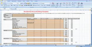 Excel Templates For Construction Estimating by Residential Construction Draw Sheet In Construction Estimating