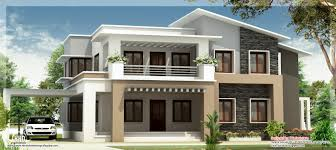 modern mix double floor home design kerala building plans online