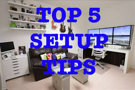 Pc Desk Setup Stylish Computer Desk Setup Ideas With Top 5 Tips For The Best