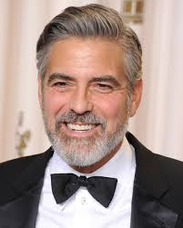 celebrity men long hairstyles george clooney 53961 w1000 best