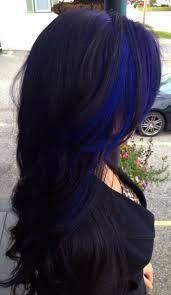 best 25 blue hair streaks ideas on pinterest blue hair