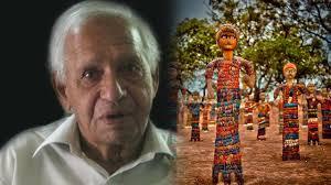 creator of rock garden in chandigarh nek chand dies at 90 youtube