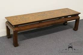 drexel coffee table high end used furniture drexel heritage et cetera floral asian