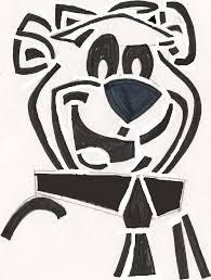 yogi bear yogi bear stencil by coopergal24 on deviantart